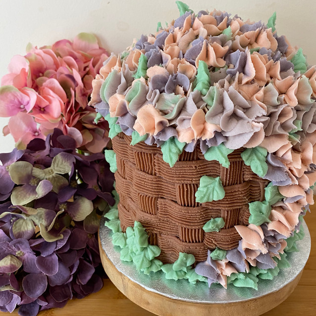 Chocolate Basket Cake