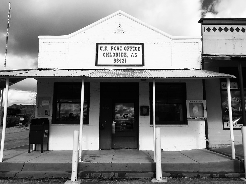 Post office, Chloride, Arizona