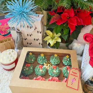 Cupcakes Under Tree