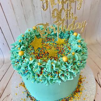 6 Inch Birthday Cake