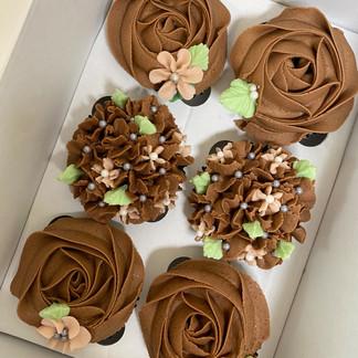 Decadent Nutella Cupcakes