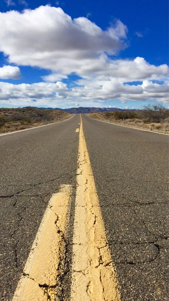 desert road, Nevada
