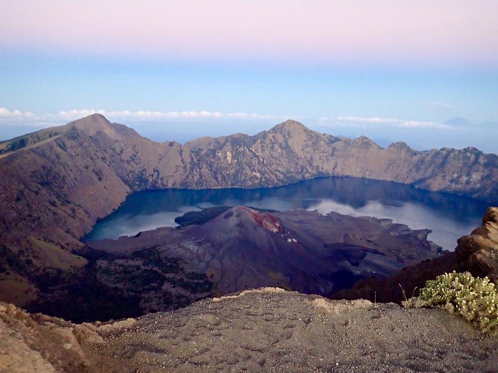 Samalas volcano, Gunung Rinjani, Indonesia