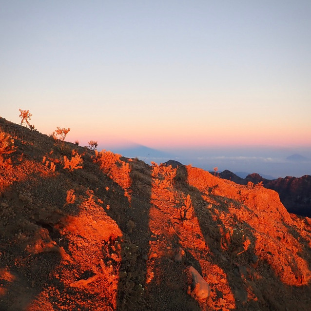 Sunrise on Gunung Rinjani