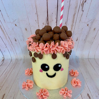Bubble Tea Cake
