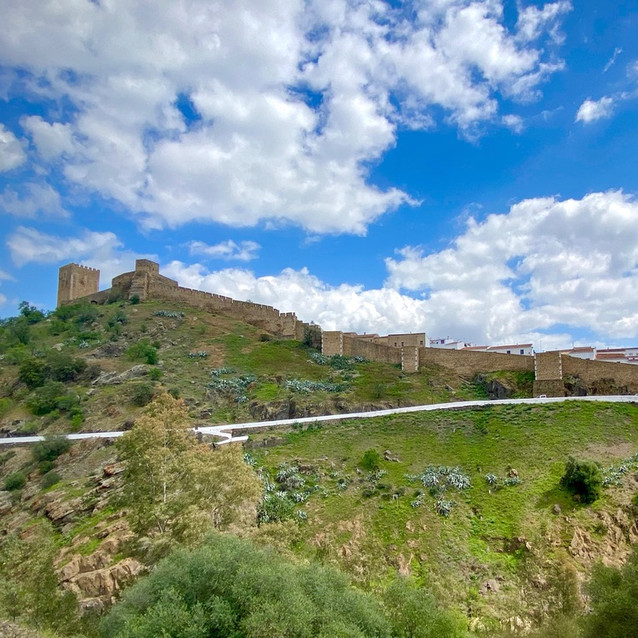 The Hill Town Of Mértola