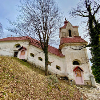 Church On A Slope