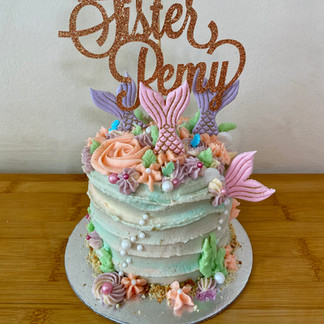 Remy's Mermaid Cake
