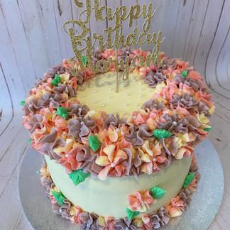 "8"" Hydrangea Cake"