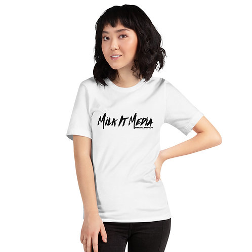 Milk It Media Unisex Logo T-Shirt