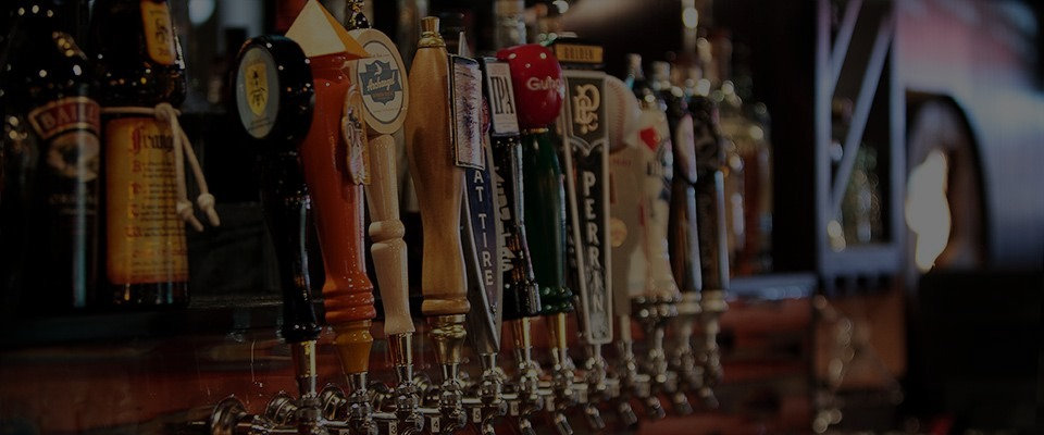 S&P's craft and domestic beer taps
