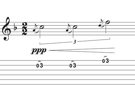 Chut!!! Comment jouer la guitare avec des dynamiques faibles.