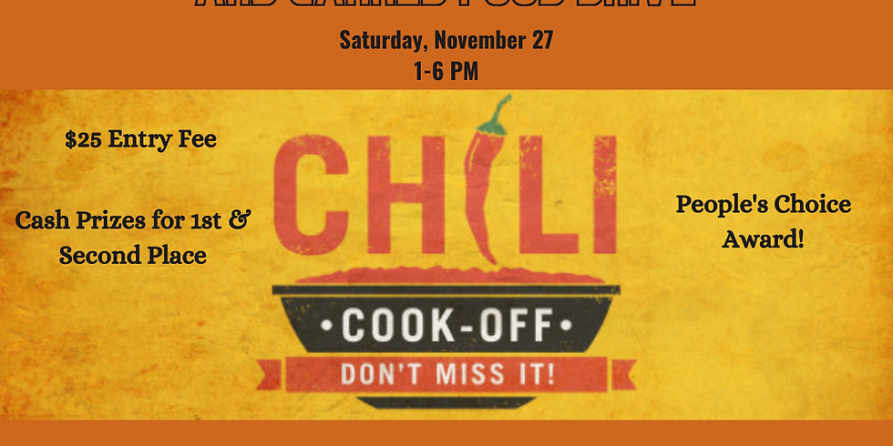 3rd Annual Chili Cookoff