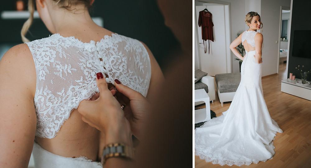 Hochzeitskleid von La Bela Noiva