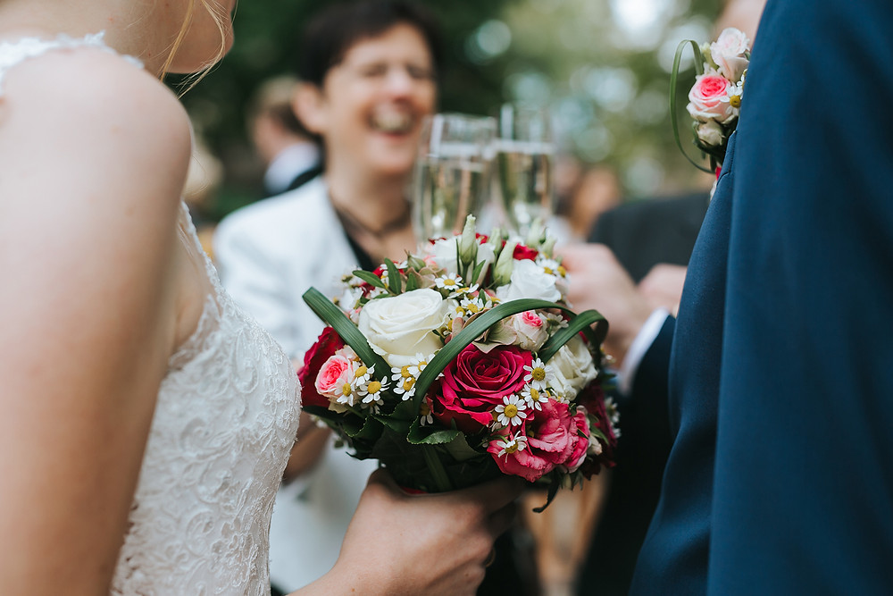 Sektempfang Hochzeit Dürrenmungenau