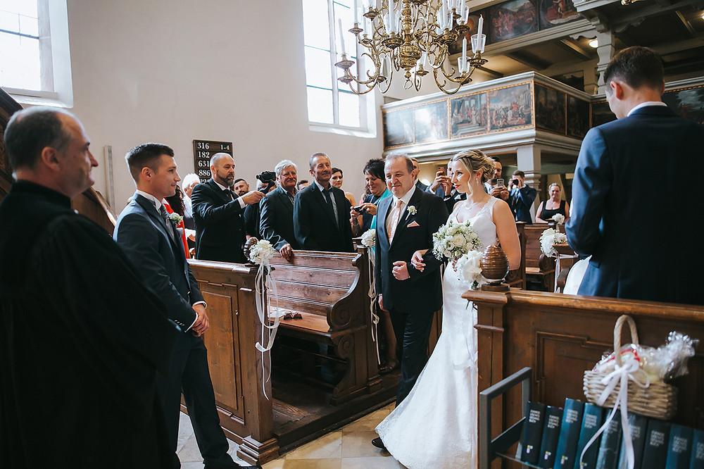 Einzug der Braut St. Rochus Zirndorf