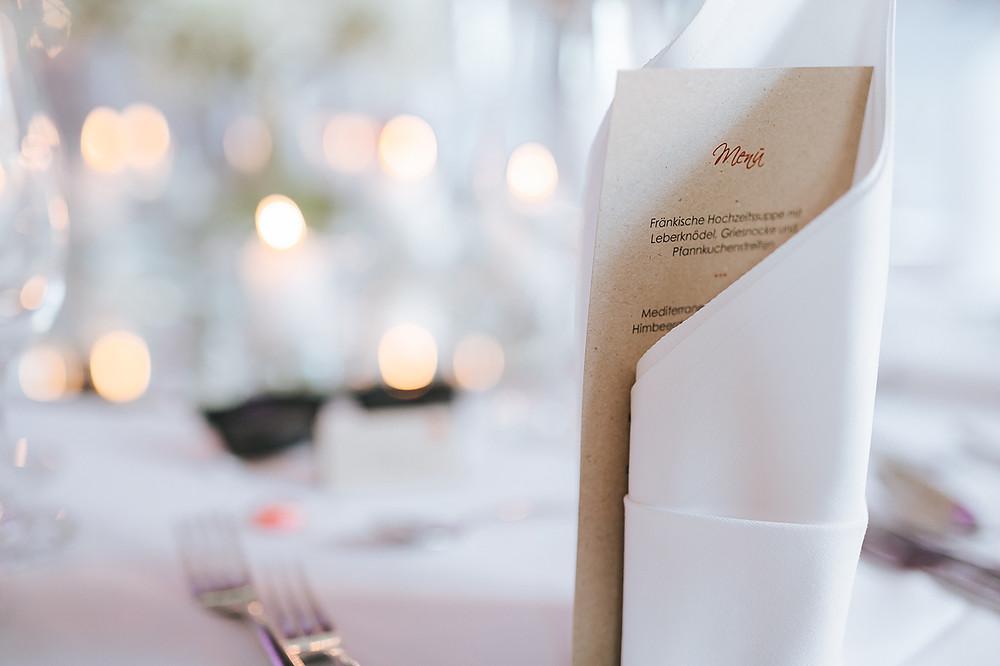 Tischdeko Hochzeit Frau Vau