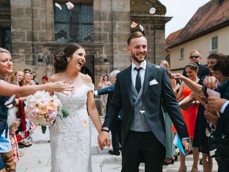 Romantische Hochzeit in Lichtenau