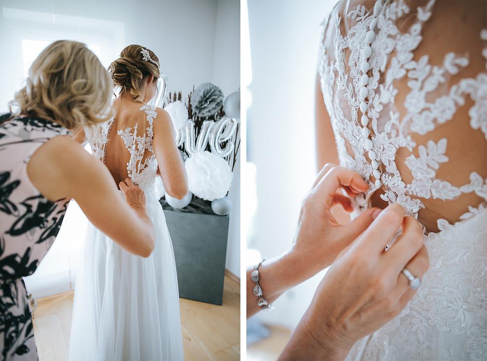 Brautkleid Tatoo Spitze