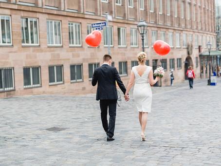 Romantische Trauung in Nürnberg