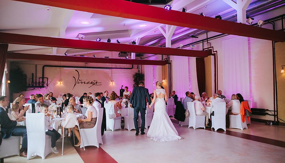 Hochzeitsfeier Vineria Nürnberg