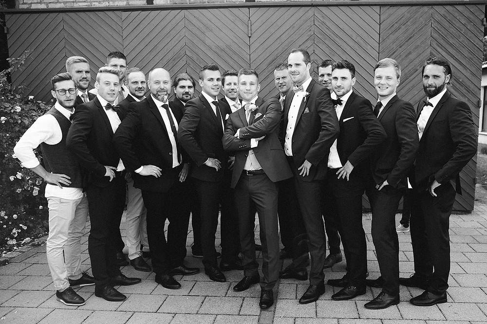 Bräutigam best men
