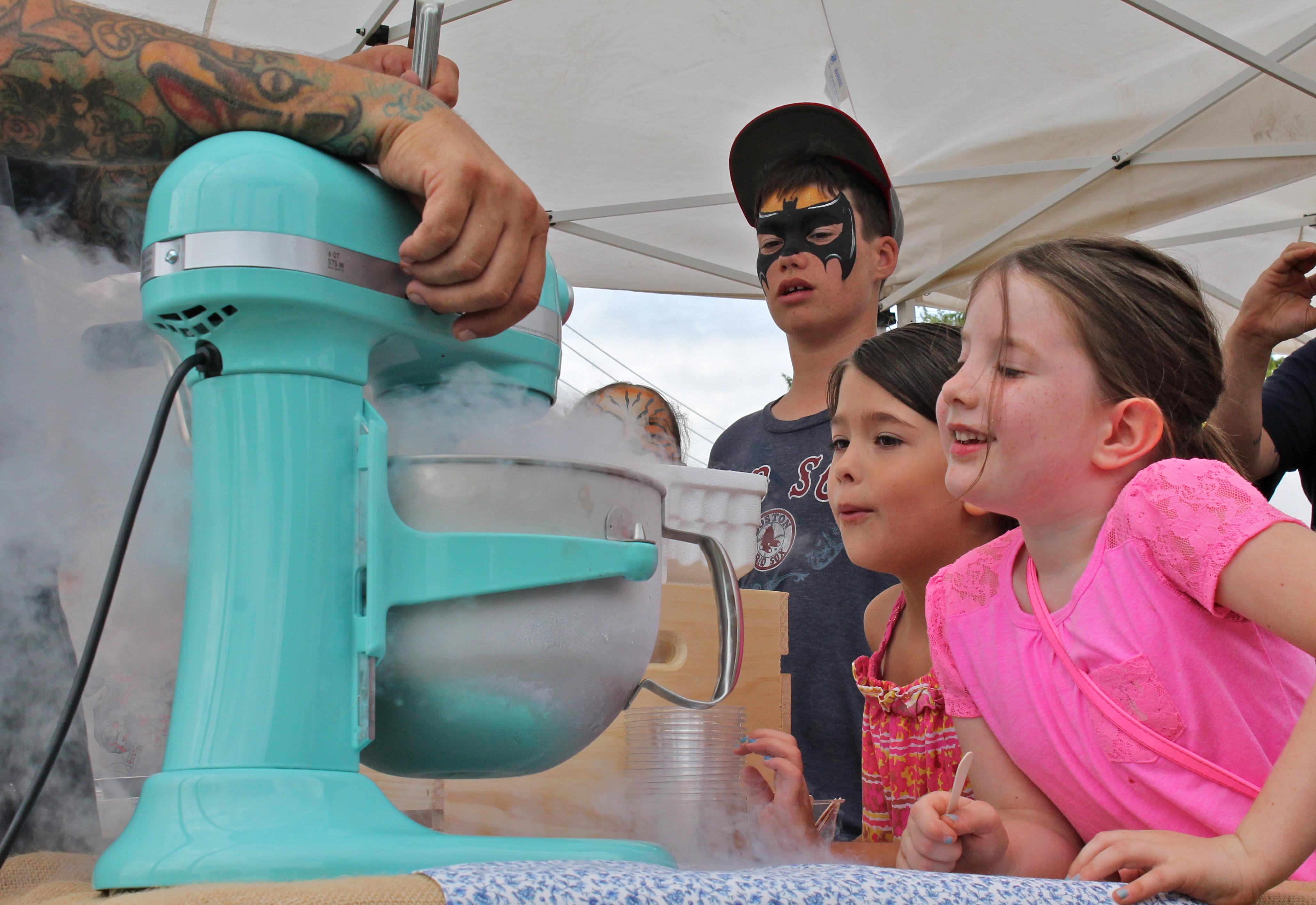 Nitro Ice-Cream Demo by St. Philip