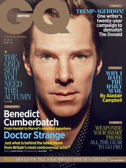 Featured In GQ November Issue 2016