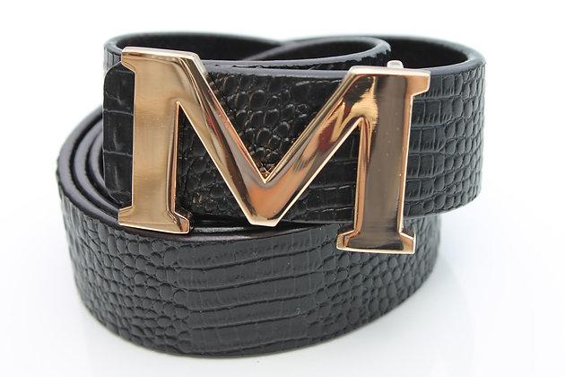 Black Croc Belt