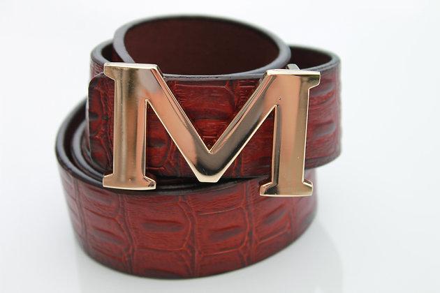 Brown Croc Belt