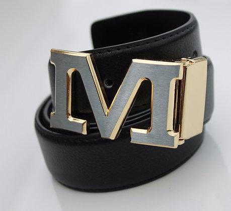 Black leather M