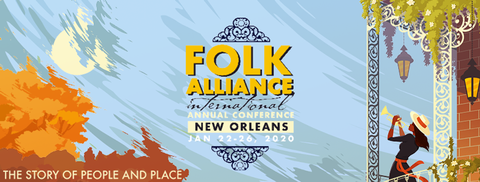 Folk Alliance Inernational New Orleans 2020