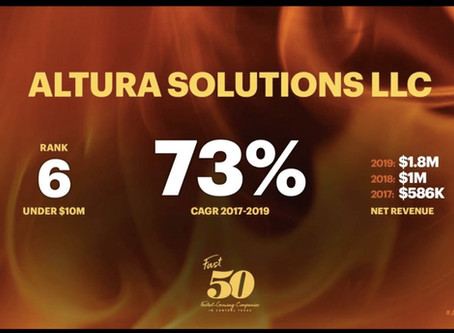 Altura Solutions Named to Fast 50 List