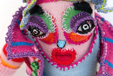 Sock dolls, Textile character design