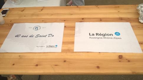 ... avec le soutien de la région Auvergne-Rhône-Alpes.
