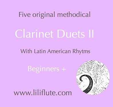 Clarinet Duets II