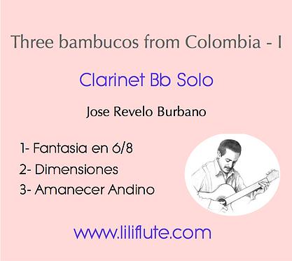 Three Bambucos fom Colombia - I