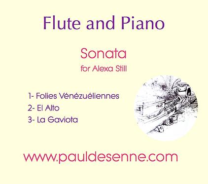 Flute and Piano Sonata