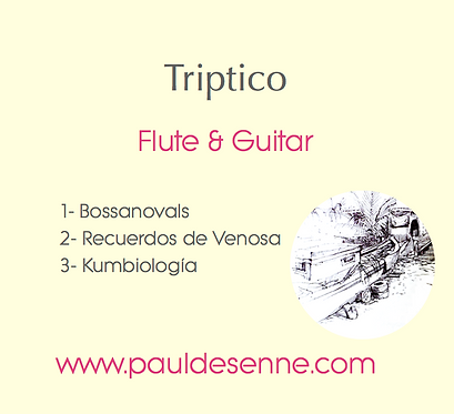 Triptico for Flute & Guitar - Three Movements