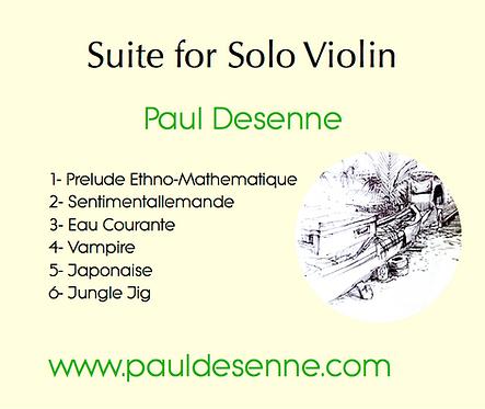 Suite for Solo Violin