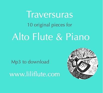 Traversuras for Alto Flute & Piano