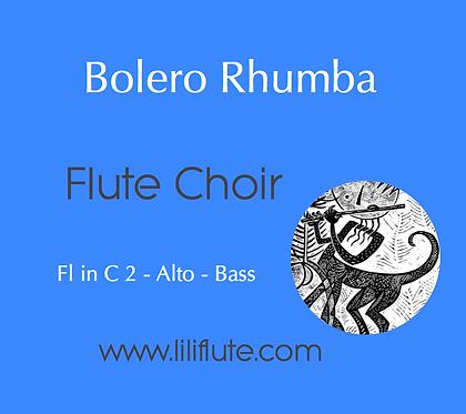 Bolero Rhumba - Flute Choir