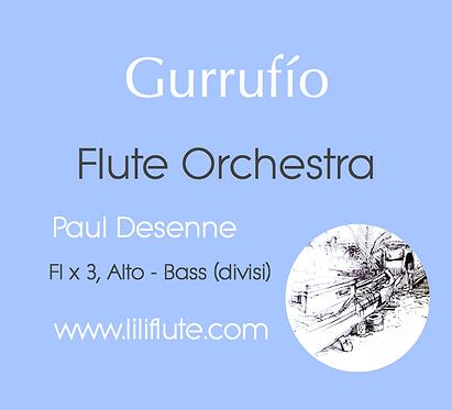 Gurrufio - Flute Orchestra