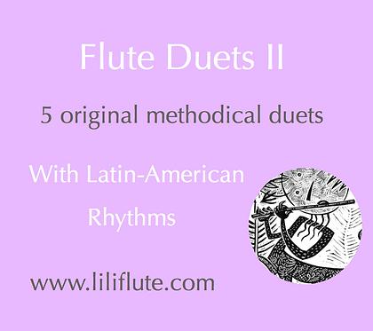 Flute Duets II - 5 Original methodical duets