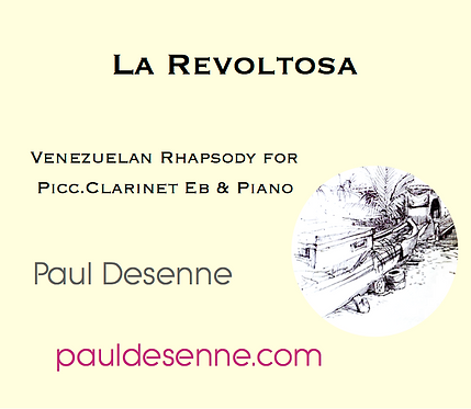 La Revoltosa -Picc Cl & Pno