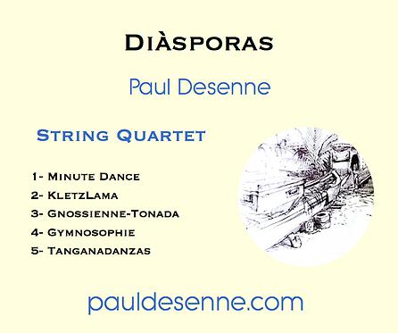 Diásporas - String Quartet