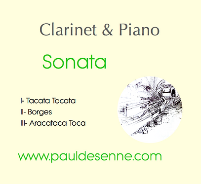 Clarinet & Piano Sonata