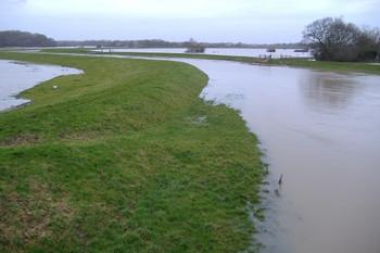 Bramber Brooks flooding, December 2012.j