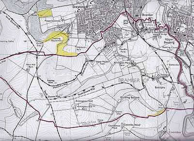 Bramber Parish Boundary