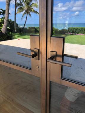 Custom Bronze Doors Made in Italy